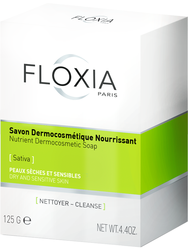 savon-nourrissant-peau-sèche-sensible-floxia